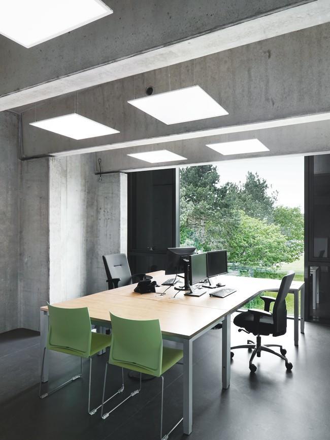 LED Bürobeleuchtung'